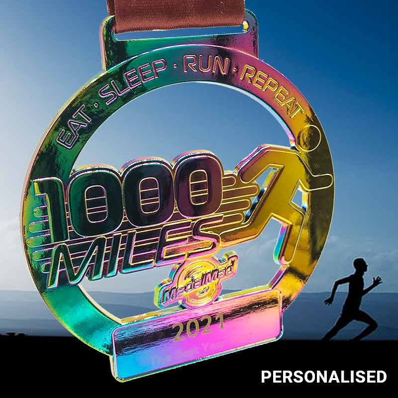 The Big Medal Challenge 1000 Miles 2021