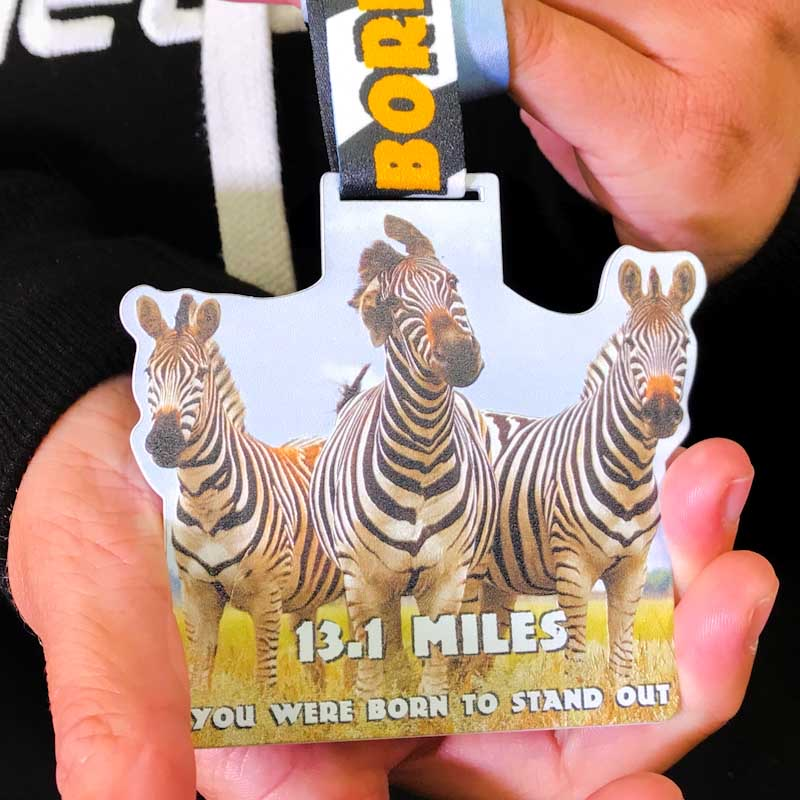 You Were Born to Stand Out 13.1 Miles