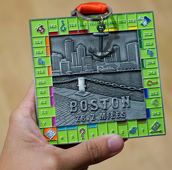 Boston Marathon Virtual Run 2020 (Sept)