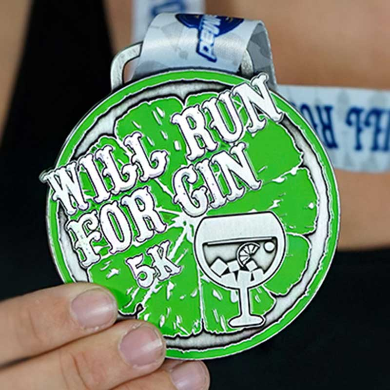 Will Run For Gin 5k 2020 Image