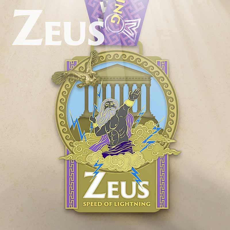 The Zeus Olympian Virtual Challenge