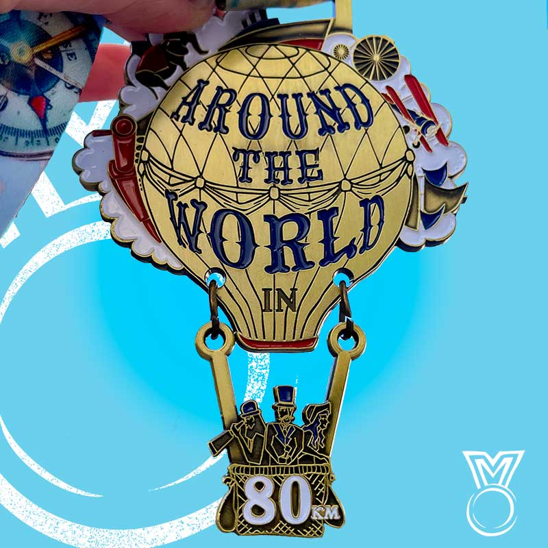Around the World in 80KM 2021