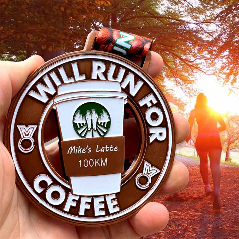 Will Run for Coffee 5KM to 100KM