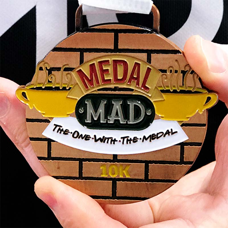 The One With the Medal 10km 2020 Image