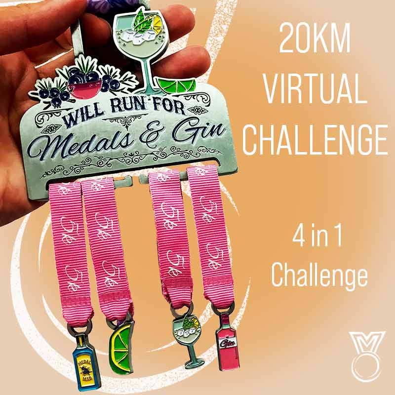 For Medals and Gin 20KM 2021