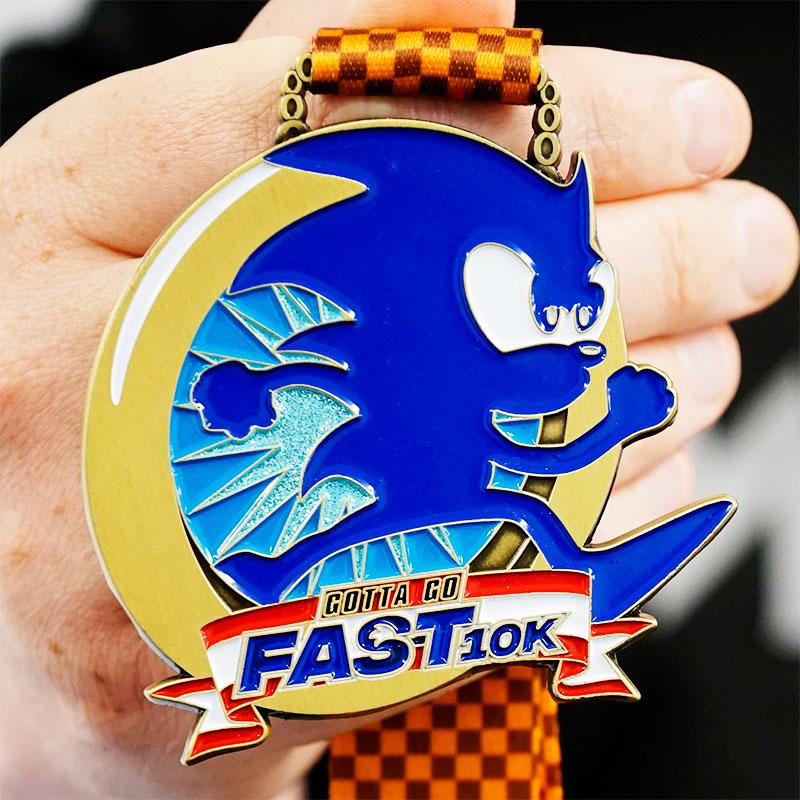 Gotta Go Fast 10km Virtual Challenge