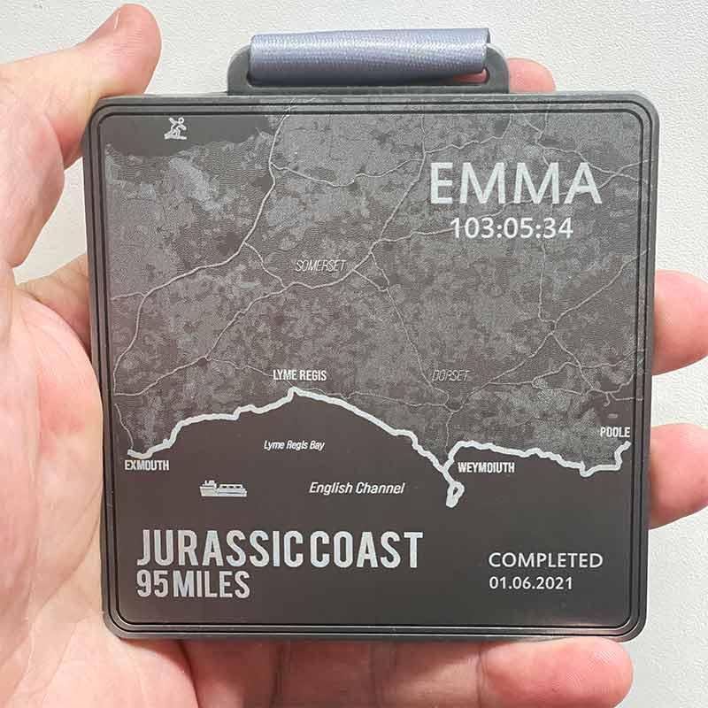 The Jurassic Coast 95 Miles