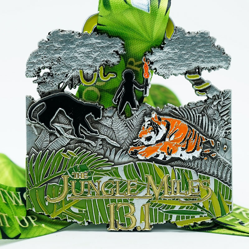The Jungle miles 13.1 Virtual Challenge