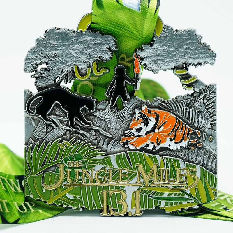 The Jungle 13.1 Miles 2020 Virtual Challenge Image