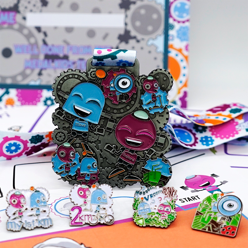 Move and Explore Challenge Pin Pack 2019