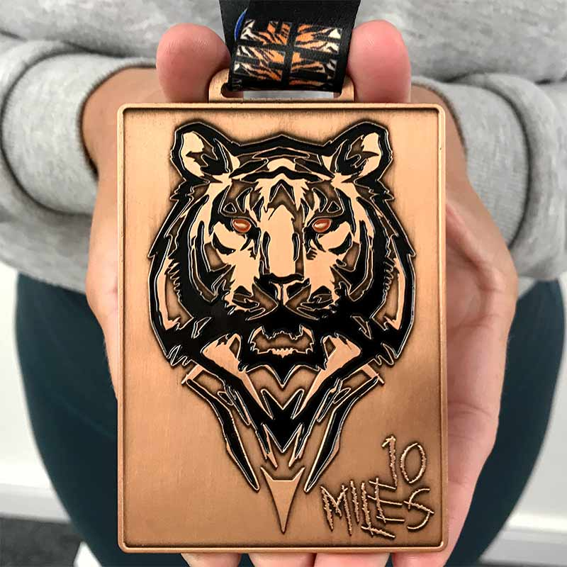Eye of the Tiger 10 Miles 2020 Image
