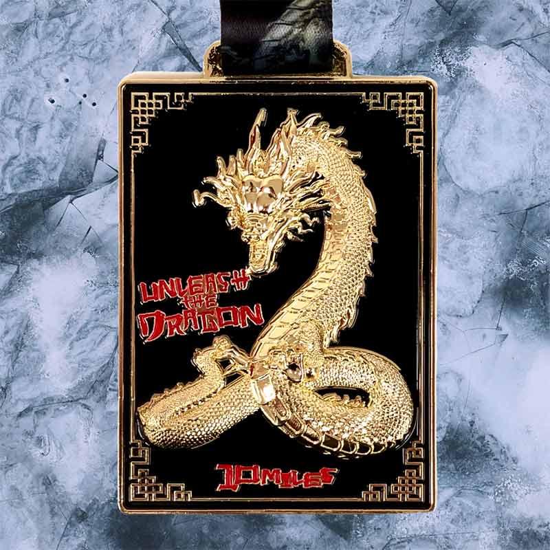 Unleash the Dragon 10 Mile Virtual Challenge