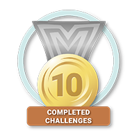 10 Completed Challenges