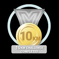 10KM Challenge Achieved