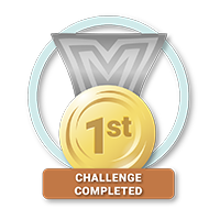 First Challenge Completed