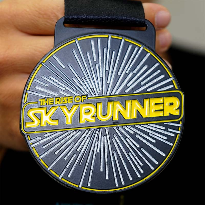 Completed the Skyrunner 10KM Challenge 2020