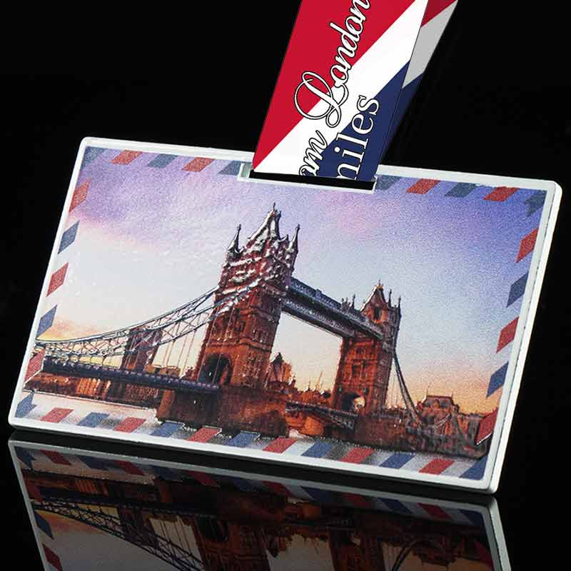 Completed the Postcard from London 26.2 mile challenge