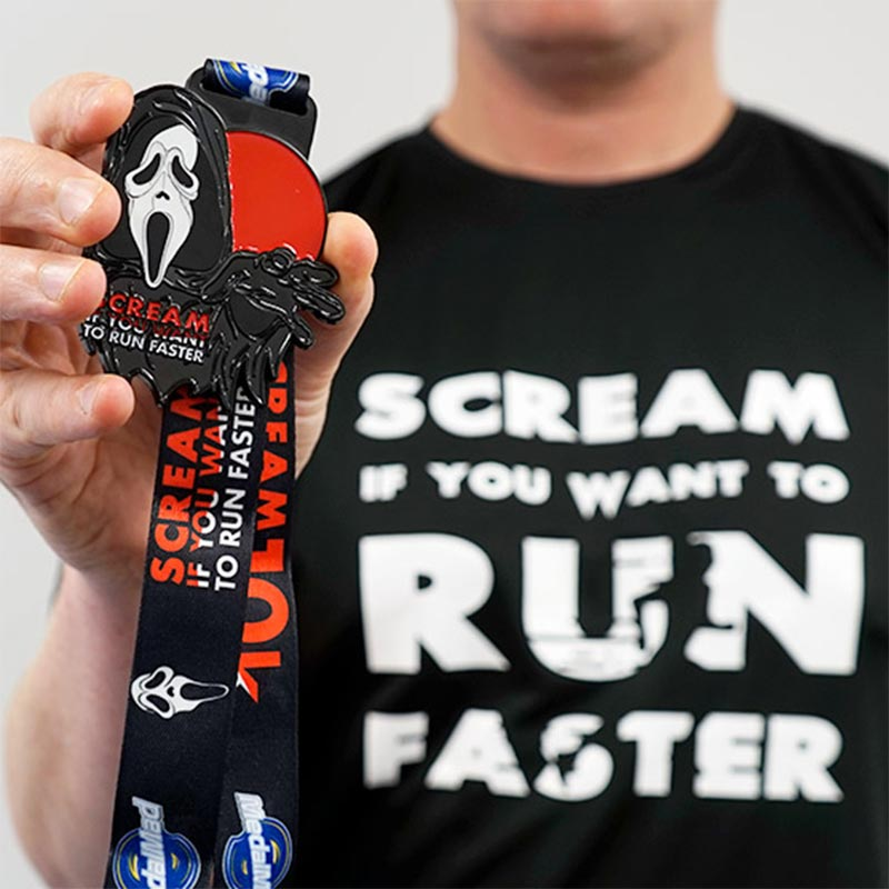 Completed Scream If You Want To Run Faster 10km challenge