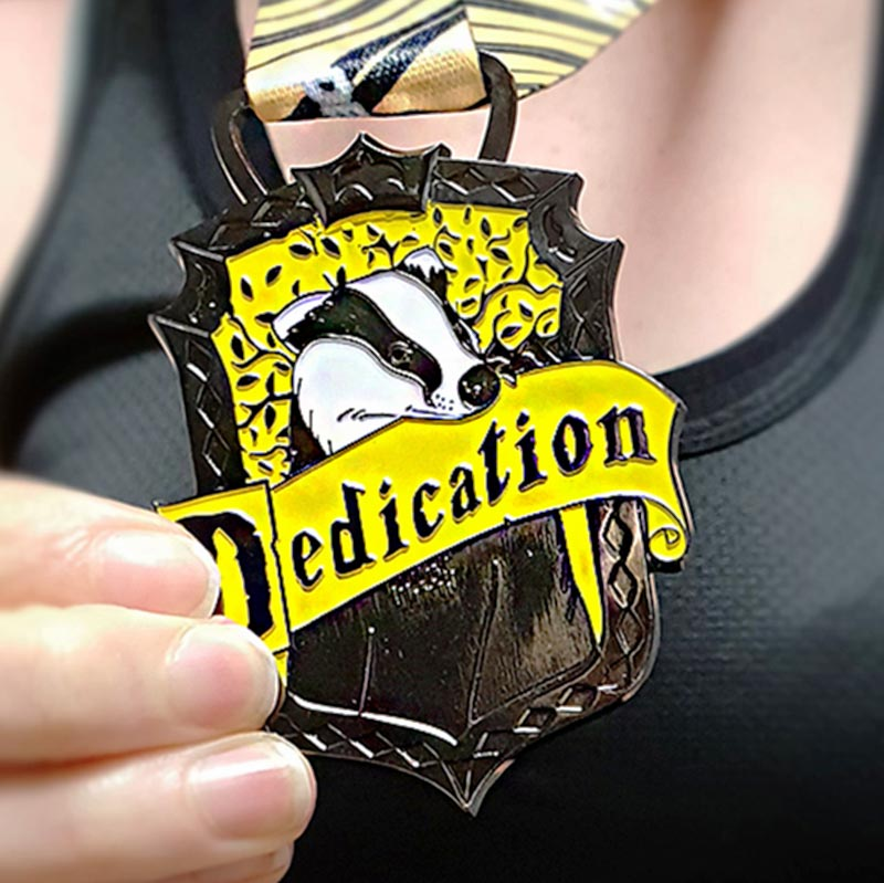 Completed Show Your Dedication 10KM Challenge