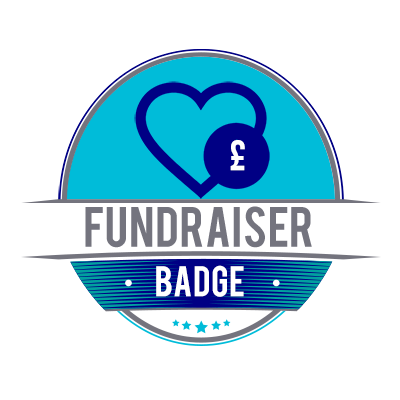 Fundraiser Badge Achieved