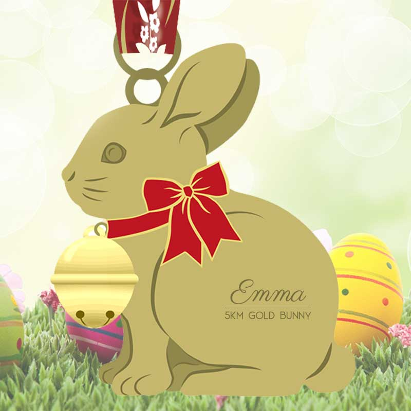 Completed the Gold Bunny 5KM Challenge