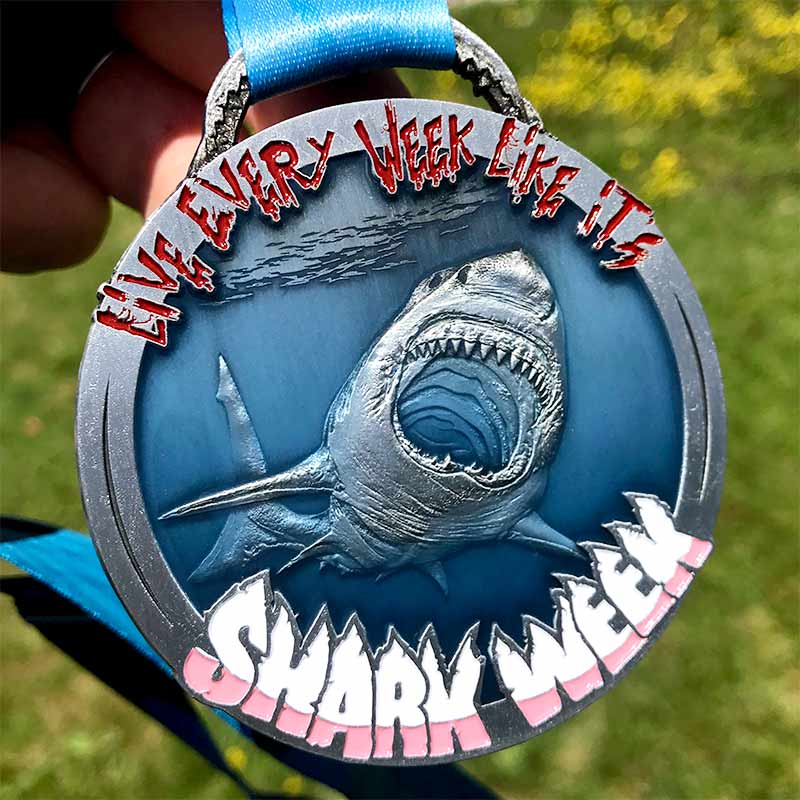 Completed the Shark Week Challenge 2021