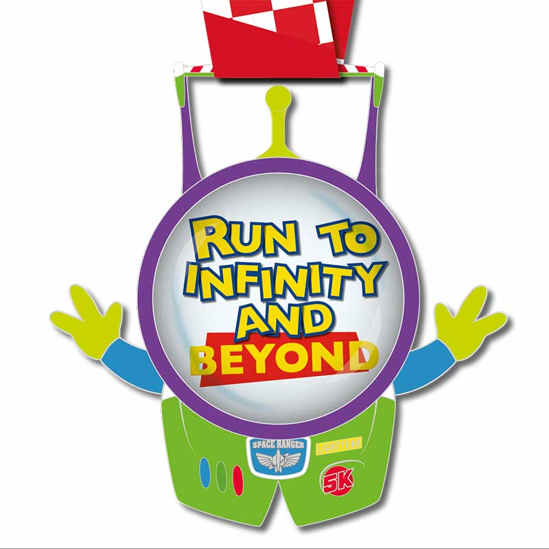 Completed Run to Infinity 5KM Challenge