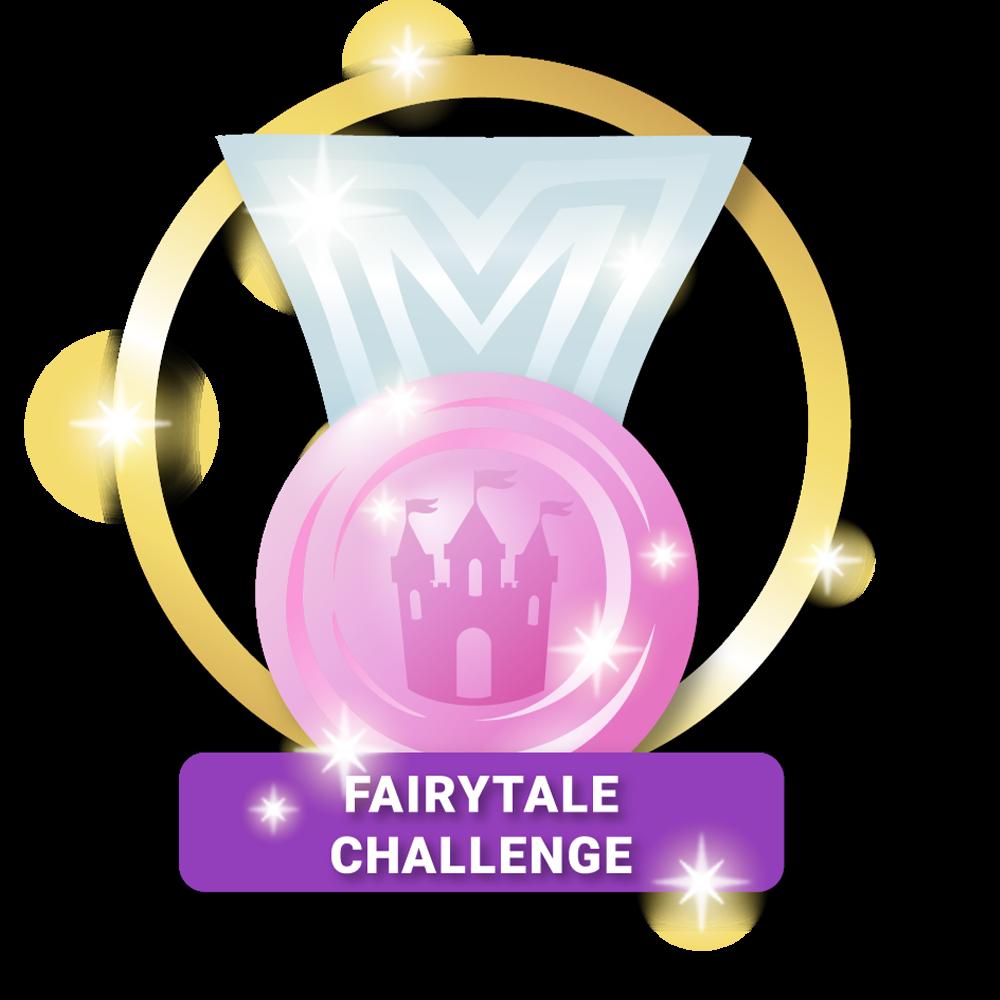 Fairytale Inspired Challenge Achieved