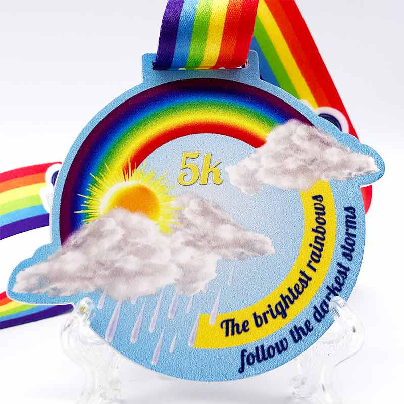 Completed the Brightest Rainbow 5KM Challenge 2020
