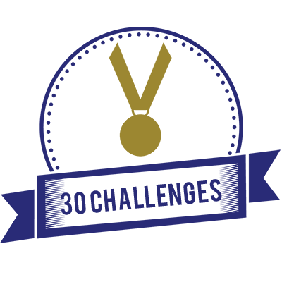 30 Completed Challenges