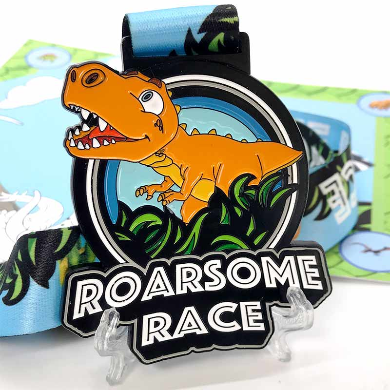 Completed the Roarsome Race 2020