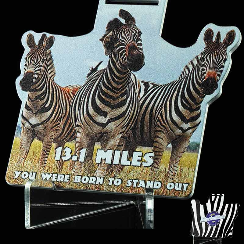 Completed You Were Born to Stand Out 13.1 Mile Challenge