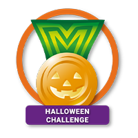 Halloween Badge Achieved